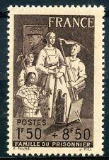 STAMP / TIMBRE FRANCE NEUF N° 585 ** AU PROFIT DE LA FAMILLE DU PRISONNIER
