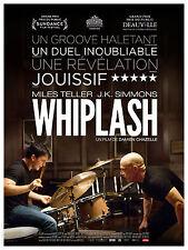 WHIPLASH Affiche Cinéma / Movie Poster Damien Chazelle 160x120 JAZZ Batterie