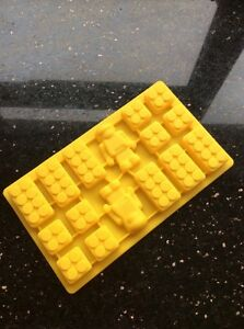 Bricks And Men Silicone Mould For Cake Decorating