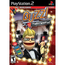 Brand New Sealed Buzz! The Hollywood Quiz-Game Only Playstation 2 PS2
