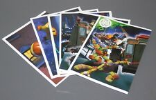 UN LOTE DE 6 CROMOS TEENAGE MUTANT NINJA TURTLES  2013 -PANINI