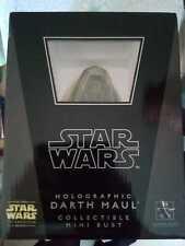 Star Wars Darth Maul Holographic mini bust Gentle Giant