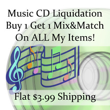 Used Music Cd Liquidation Sale * Artists: F-F #205 * Buy 1 Get 1 flat ship fee