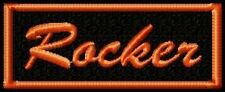 ROCKER  BIKER PATCH