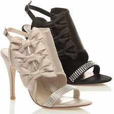 High Heel (3-4.5 in.) Strappy Slim Shoes for Women