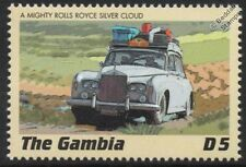 ROLLS ROYCE SILVER CLOUD Classic Marathon Rally Car Stamp