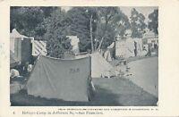SAN FRANCISCO CA - Refugee Camp in Jefferson Square - udb (pre 1908)
