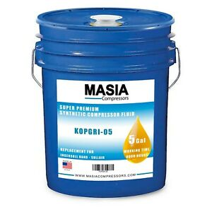 Ingersoll Rand Ultra Coolant Oil, 5 Gallon Pail, 8000 Hours (38459582, 39433735)