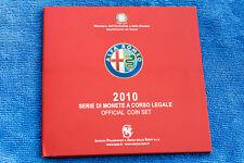 ALFA ROMEO CENTENARY 1910 2010 OFFICIAL COIN SET EURO