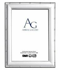 """Arbras Gallery Sterling Silver Frame Ribbon & Reed design for photograph 7""""x 5"""""""