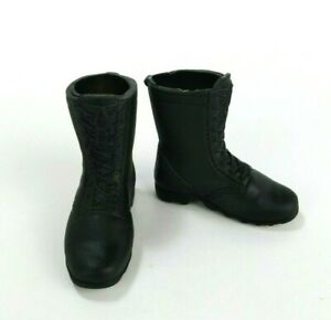 Hasbro 1/6 Scale G.I. Joe Black Boots For Most 12 Inch Action Figures BBI 21st