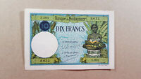 Madagascar 10 francs 1937 UNC