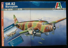 ITALERI 1270 - SM.82 MARSUPIALE + photographic Manual - 1:72 - Modellbausatz Kit
