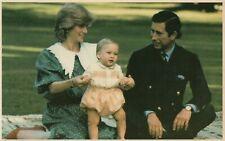 ❤ alte POSTKARTE_1983_Prinzessin_Princess_Lady_DIANA_Prince_CHARLES_William__
