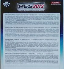 RARE PROMOTIONAL FLYER INSERT PES 2013 Playstation 3 Three PS3 PS