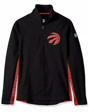 NBA Womens 2xl Toronto Raptors Black MVP Quarter Zip Pullover