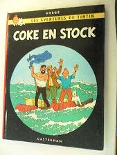 Tintin - Coke en Stock - Hardcover 1967 - Casterman -Tim + Struppi  franz.- Z.2