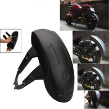 No Groove Tire Motorcycle Rear Wheel Cover Fender Splash Guard with Bracket Set