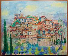 Drevet-Laplace tableau Village signé