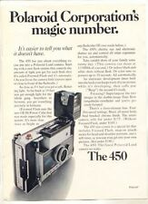 1971 Vintage ORIGINAL Magazine Playboy Print Ad POLAROID LAND CAMERA The 450
