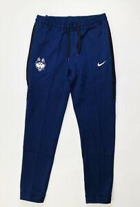 Nike Dry UCONN Huskies Basketball Showtime Pant Women's M CQ0337 Navy Blue