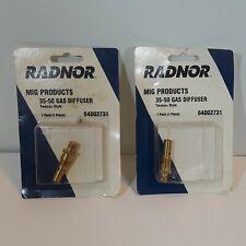New listing (2)Radnor Mig Product 35-50 Diffuser 1 Pc 64002731