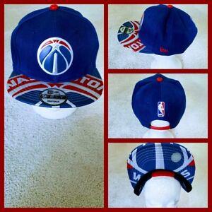 WASHINGTON WIZARDS NBA BASKETBALL SNAPBACK HAT.