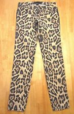 TRIPP NYC Hot Topic Size 1 Animal Print Beige Leopard Cheetah Skinny Jeans