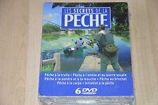 Coffret 6 DVD les secrets de la pêche - Neuf sous blister