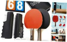 New listing Ping Pong Set for Any Table - Portable Table Tennis Game - Post Clamps on