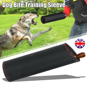Dog Bite Training Sleeve Tugs Protection Canvas Left Right Arm Hands Suit Handl