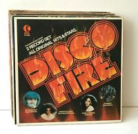 Disco Music Lot of 13 Vinyl Record Albums Disco Fire Singles LPs