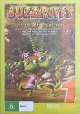 Buzz & Poppy Dvd Life In The Rainforest They're Bugs 🐜 R4 🇦🇺New Sealed