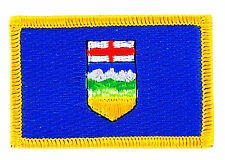 FLAG PATCH PATCHES Alberta IRON ON EMBROIDERED CANADA PROVINCE