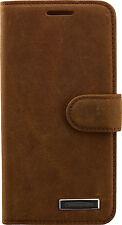 COMMANDER BOOK CASE Echt Leder Handy Tasche Handytasche Apple iPhone 5 5S 5se