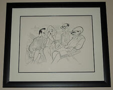 "Al Hirschfeld THE MISFITS ""On the Set"" Signed Limited Edition Lithograph FRAMED"