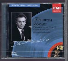 BARENBOIM CD NEW MOZART PIANO CONCERTOS 20 & 27