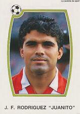 N°079 JUANITO RODRIGUEZ ATLETICO MADRID CROMO PANINI FUTBOL 93 STICKER LIGA 1993