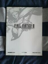 Final Fantasy III 3 Strategy Guide Nintendo DS
