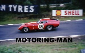 JACK SEARS JOHN WILLMENT RACING SHELBY DAYTONA COBRA BRANDS 1965 PHOTOGRAPH