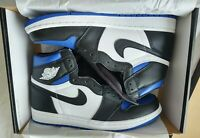 """UNWORN DS"" Authentic OG ALL Air Jordan 1 Retro High Royal Toe SIZE M9 SHIP FAST"