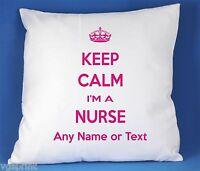 Keep Calm I'm a infirmière SATIN LUXE polyester