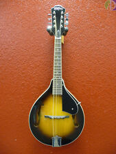 Washburn M1S A-Style Mandolin, Tobacco Sunburst, Solid Top, Free Shipping USA