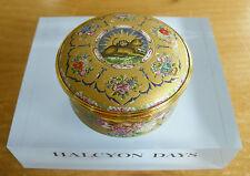 "Halcyon Days 19thC Persian Gold & Enamel Dish Inspired Enamel Box - 2 3/8""(6cms)"