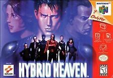 Hybrid Heaven (Nintendo 64, 1999) USED-TESTED & WORKING