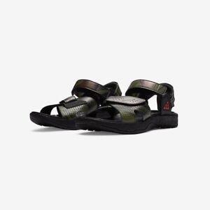 Mens Nike ACG Air Deschultz Fuji Rock Sandal Size 10 Camo Black Khaki CZ3776-001