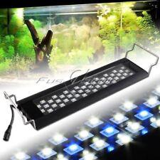 """45LEDs White Blue 0.5W LED Light Full Spectrum Aquarium Fish Tank Light 14""""-22"""""""