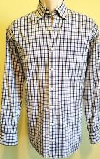 Peter Millar Mens Dress Shirt Multi Color Cotton Medium