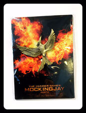 THE HUNGER GAMES MOVIE FILM PART 2 GOLD MOCKINGJAY PIN SPILLA COLLEZIONE NEW