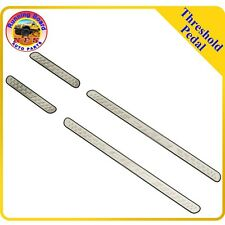 Fit12-15 Honda Civic 4 Interior Door Sill Step Scuff Plate Entry Guard Stainless